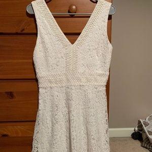 White dress Francesca's